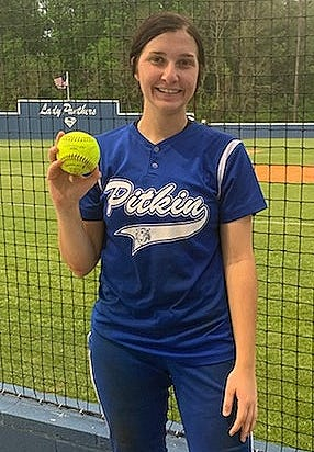 Pitkin's Lauryn Longino and Evans' Sadie Jeane each hit a homer in the Lady Tigers' win Friday over the Lady Eagles at the Stanley Tournament, 10-5.