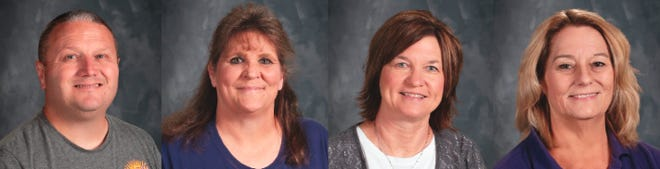 Camdenton R-III recognizes April's Classified Employees of the Week.