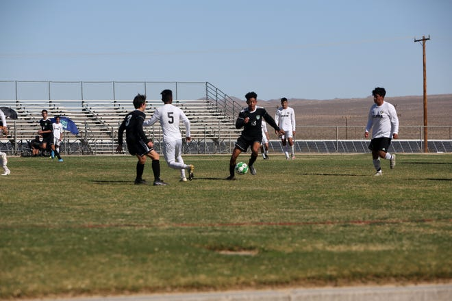The Burroughs High School boys soccer team fell to Hesperia 9-1 on Wednesday afternoon. Burroughs looks to rebound this weekend during its game against Paraclete this weekend.