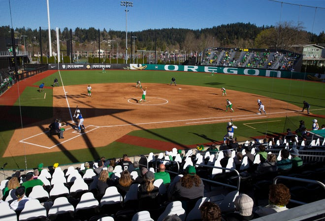 A limited number of fans are being allowed in the stands for the Oregon vs. UCLA series.