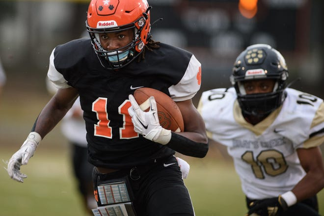 South View's Jamareese Ray enters his senior season as one of the top receivers in Cumberland County.