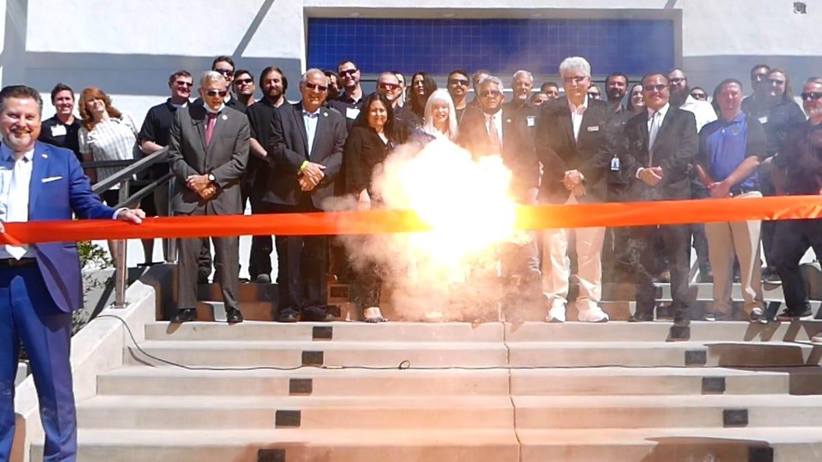 Exquadrum unveils new headquarters at SCLA in Victorville
