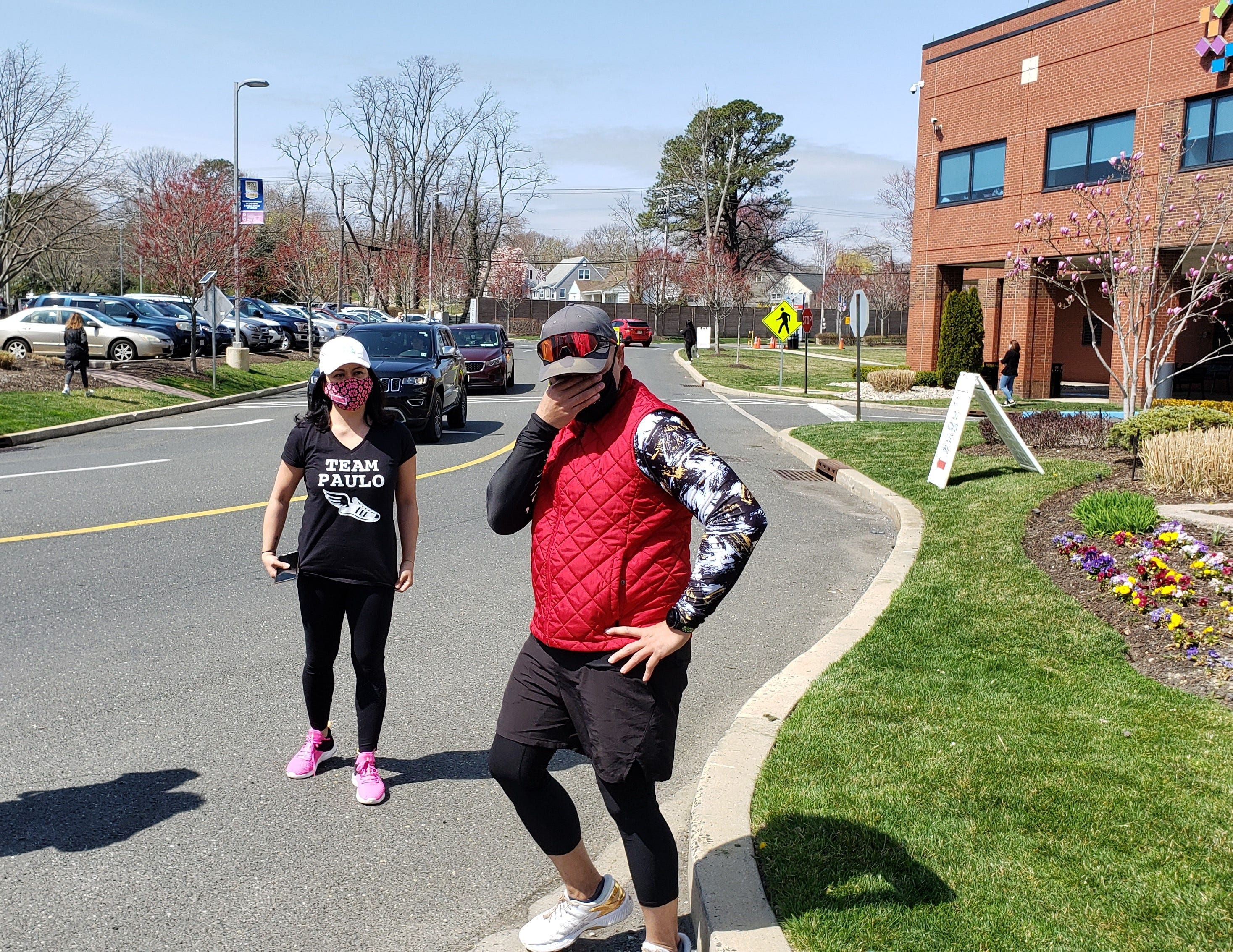Watch: 1 year after near-death from COVID, Manalapan man runs 20 miles