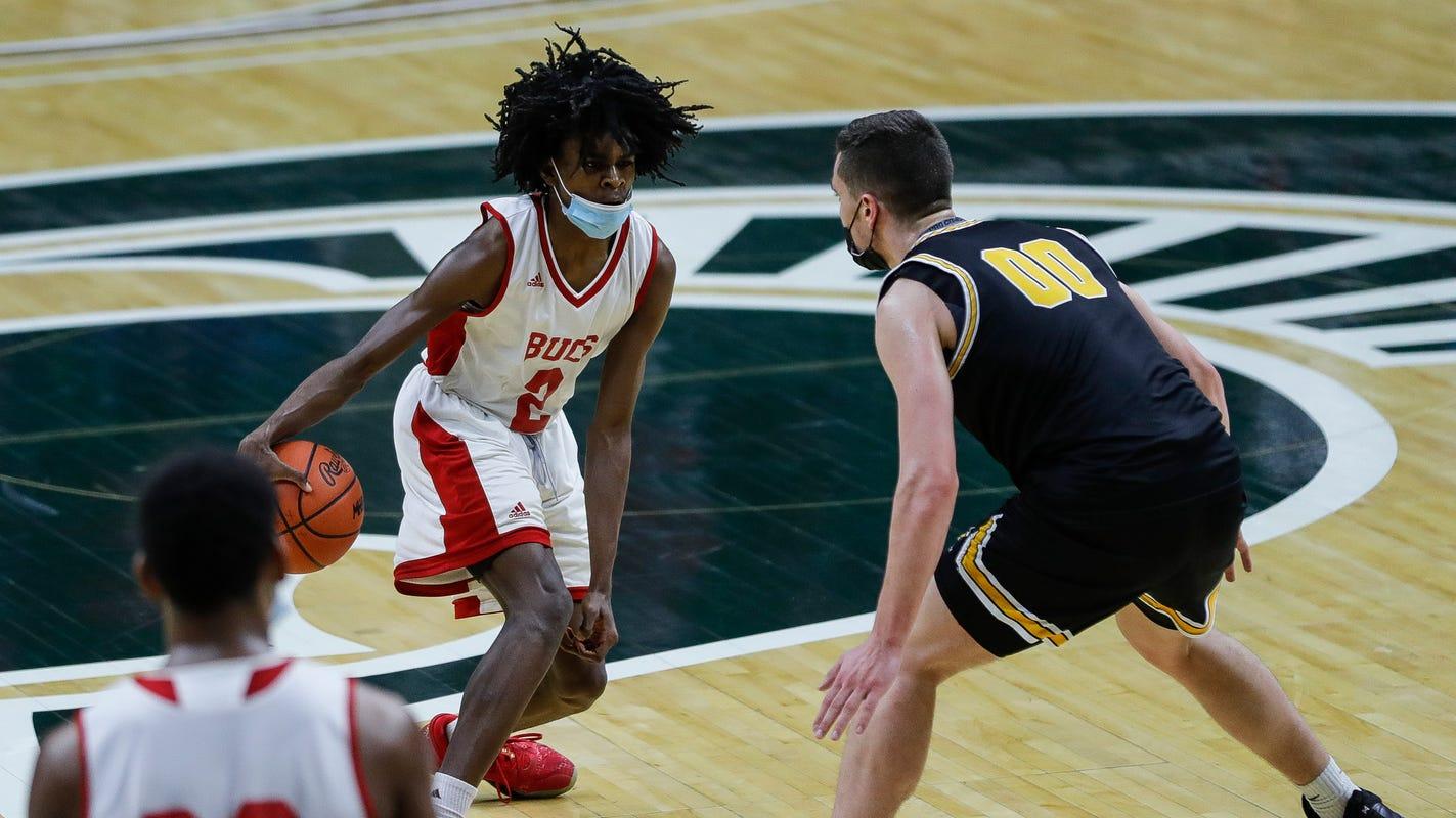 Michigan high school boys basketball: Flint Beecher storms past Iron Mountain for D3 crown