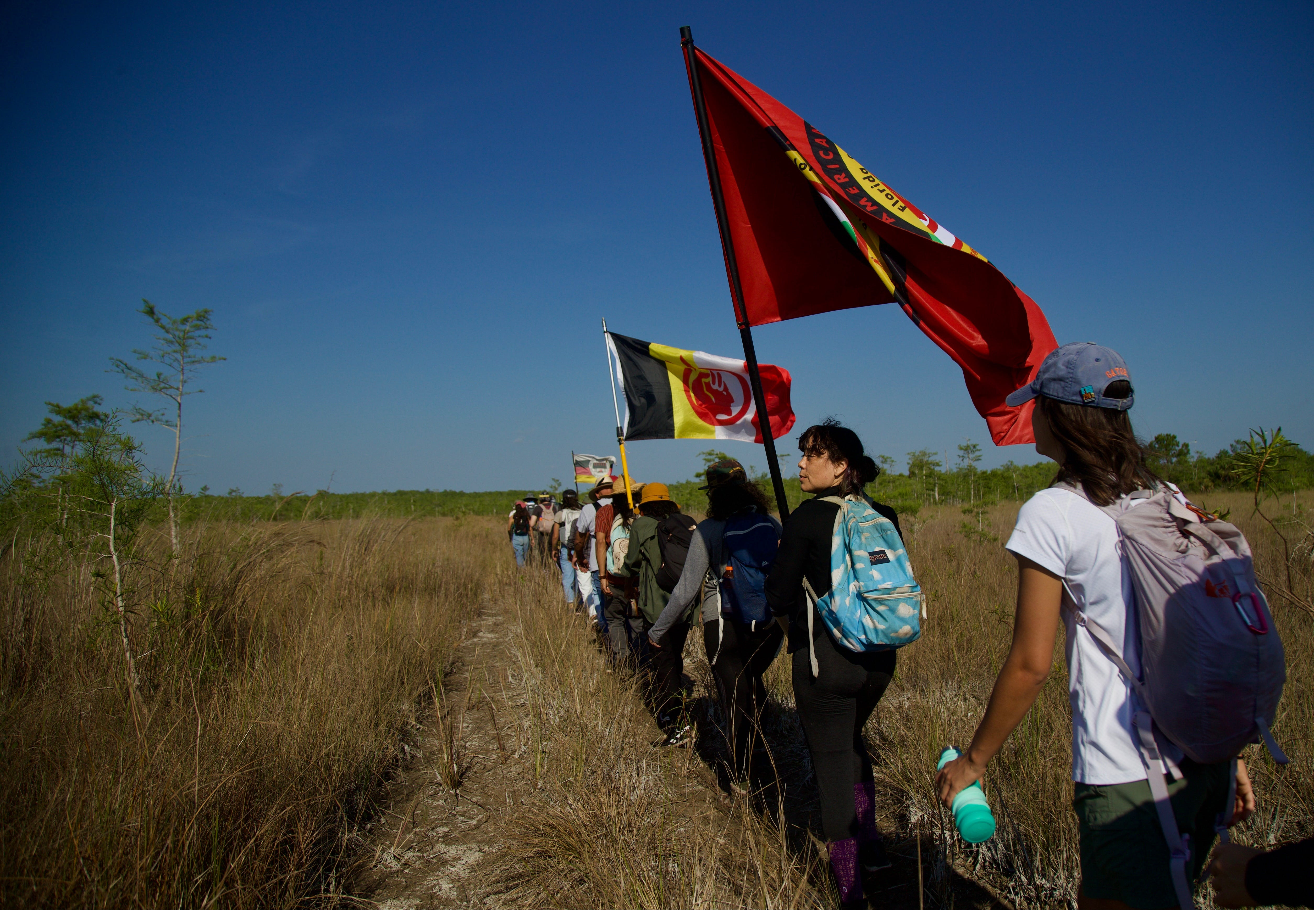 Citizens protest proposed oil drilling in Big Cypress with hike, talks 3