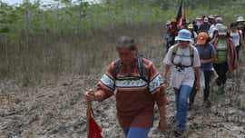 Betty Osceola speaks about Big Cypress drilling