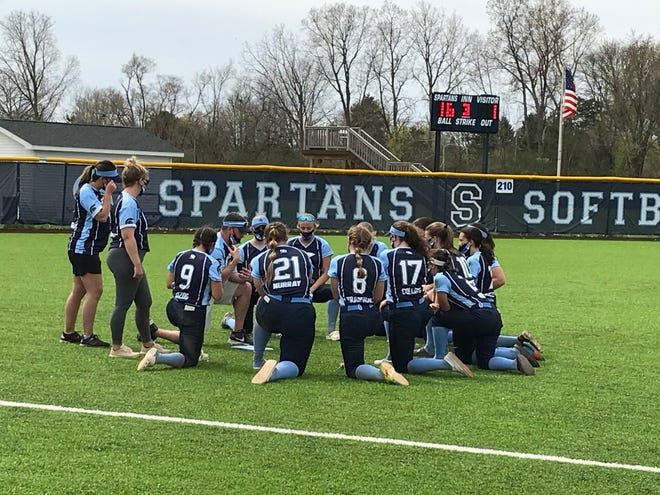 Livonia Stevenson opened its 2021 season with a doubleheader sweep of Livonia Churchill.
