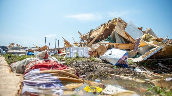A deadly 130 mph tornado hit St. Landry Parish early Saturday.