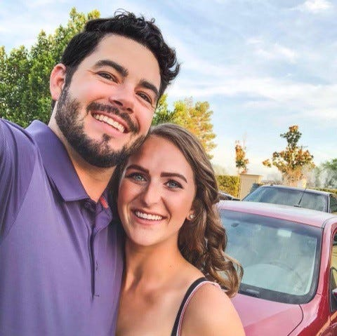 Tucson residents Alexander Lofgren, 32, and Emily Henkel, 27, were found on a steep ledge in Death Valley National Park on April 8, 2021, after the Inyo County Sheriff's Office received a report that the couple was missing. Lofgren was pronounced dead and Henkel was hospitalized after a search and rescue team removed them from the ledge on April 9, 2021.