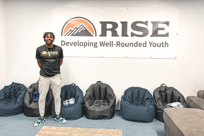 Dixie State University student David Lenard helped found RISE, an organization in St. George, Utah, to help at-risk youth.