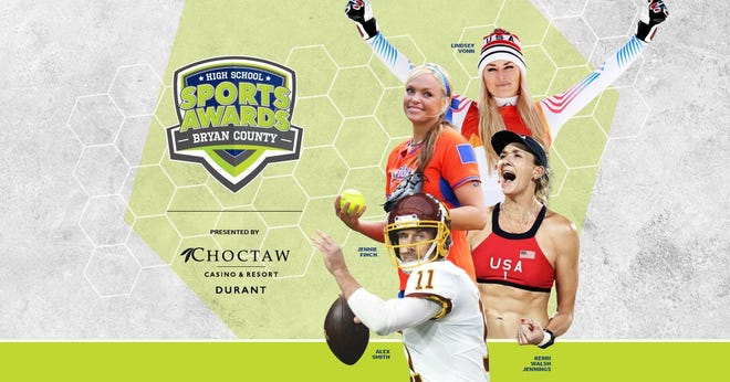 Lindsey Vonn, Alex Smith, Kerri Walsh, and The Bachelor's Matt James and Tyler Cameron, will be among a highly decorated group of presenters and guests for the Bryan County High School Sports Awards