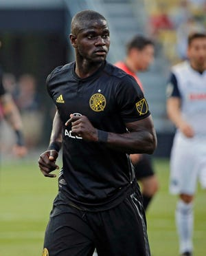 Crew defender Jonathan Mensah was one oftwo non-goalkeepers in Major League Soccer to playevery minute of the 23-game season.