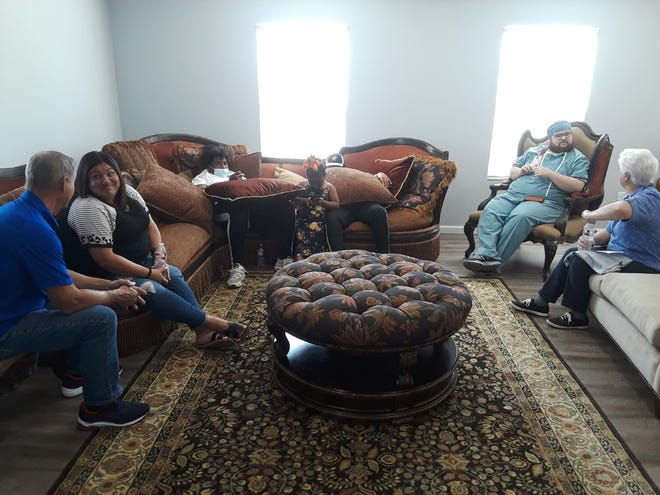 An open house was held Sunday for the Women's Restoration home in Thibodaux. The home will provide a faith-based program for women to overcome drug addiction.