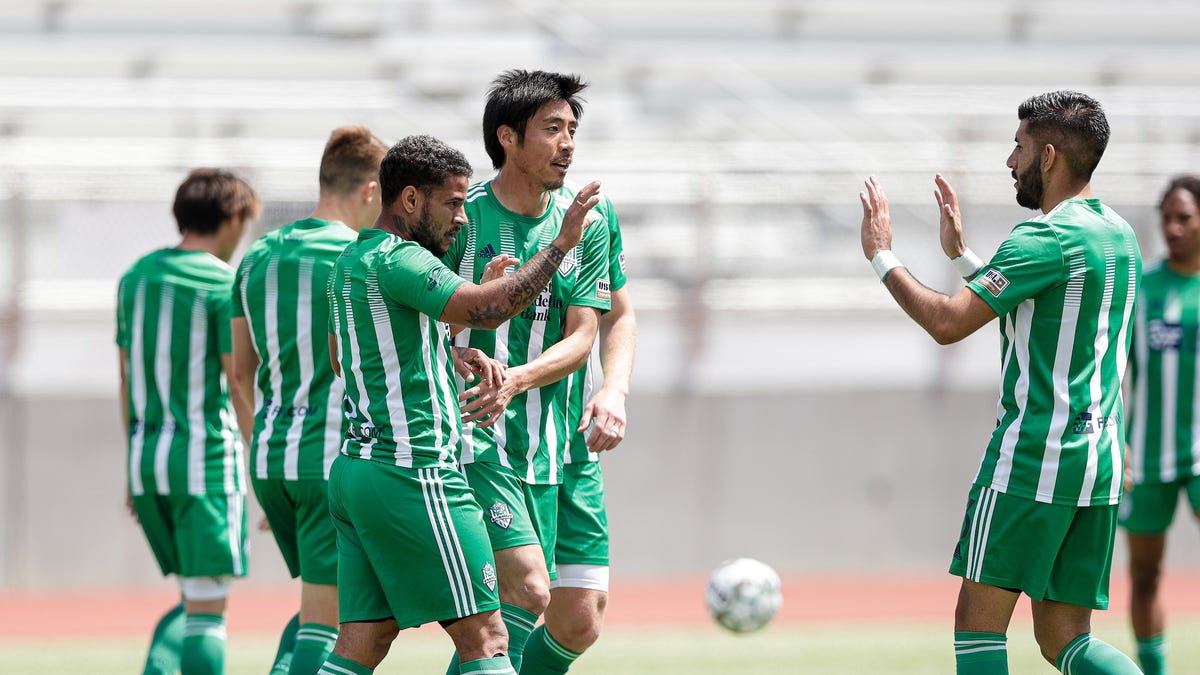 Frank Lopez scores as Energy FC forces draw with Sporting Kansas City II