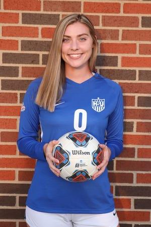 Hardin-Simmons women's soccer's Kayla Gable