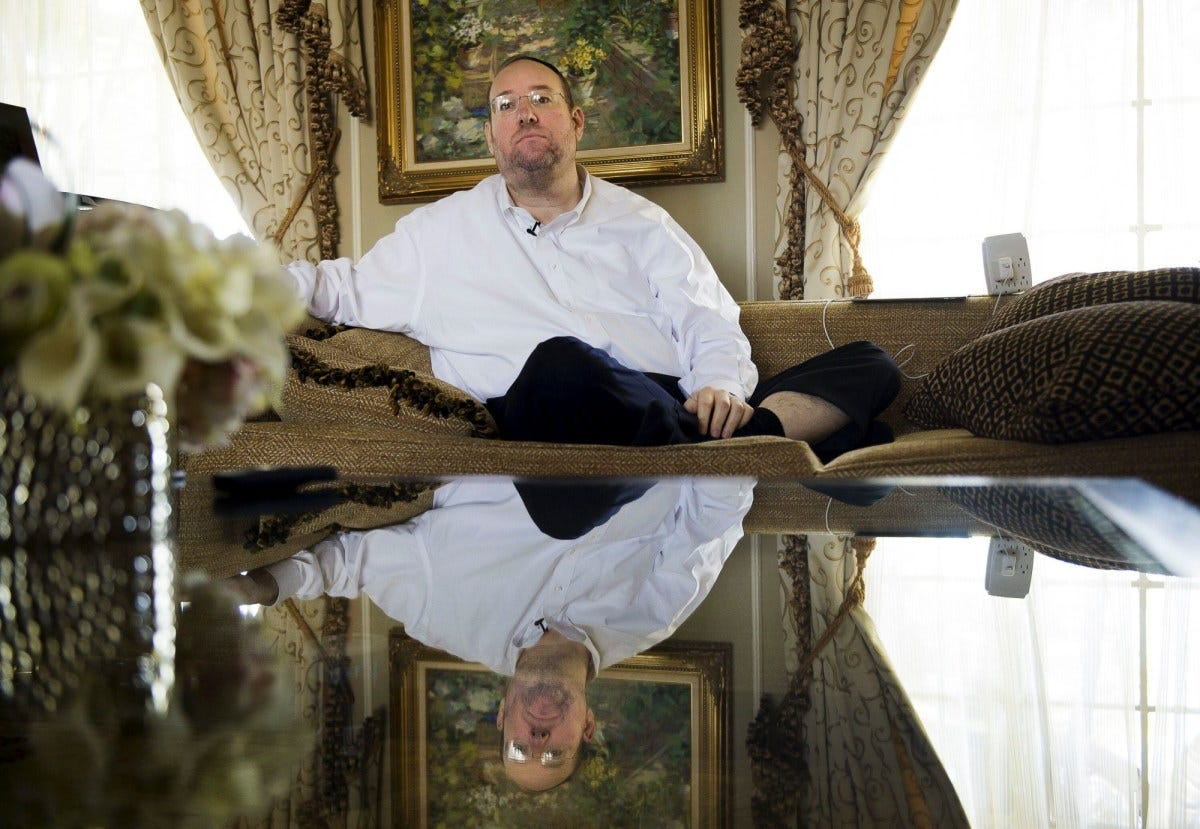 Shlomo Rechnitz through his companies is the state's largest nursing home owner.