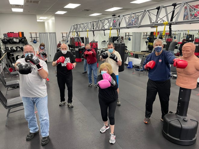 Sweat Therapy Fitness offers a specialty program called 'Rock Steady Boxing' designed for people living with Parkinson's Disease. April is Parkinson's Awareness Month.