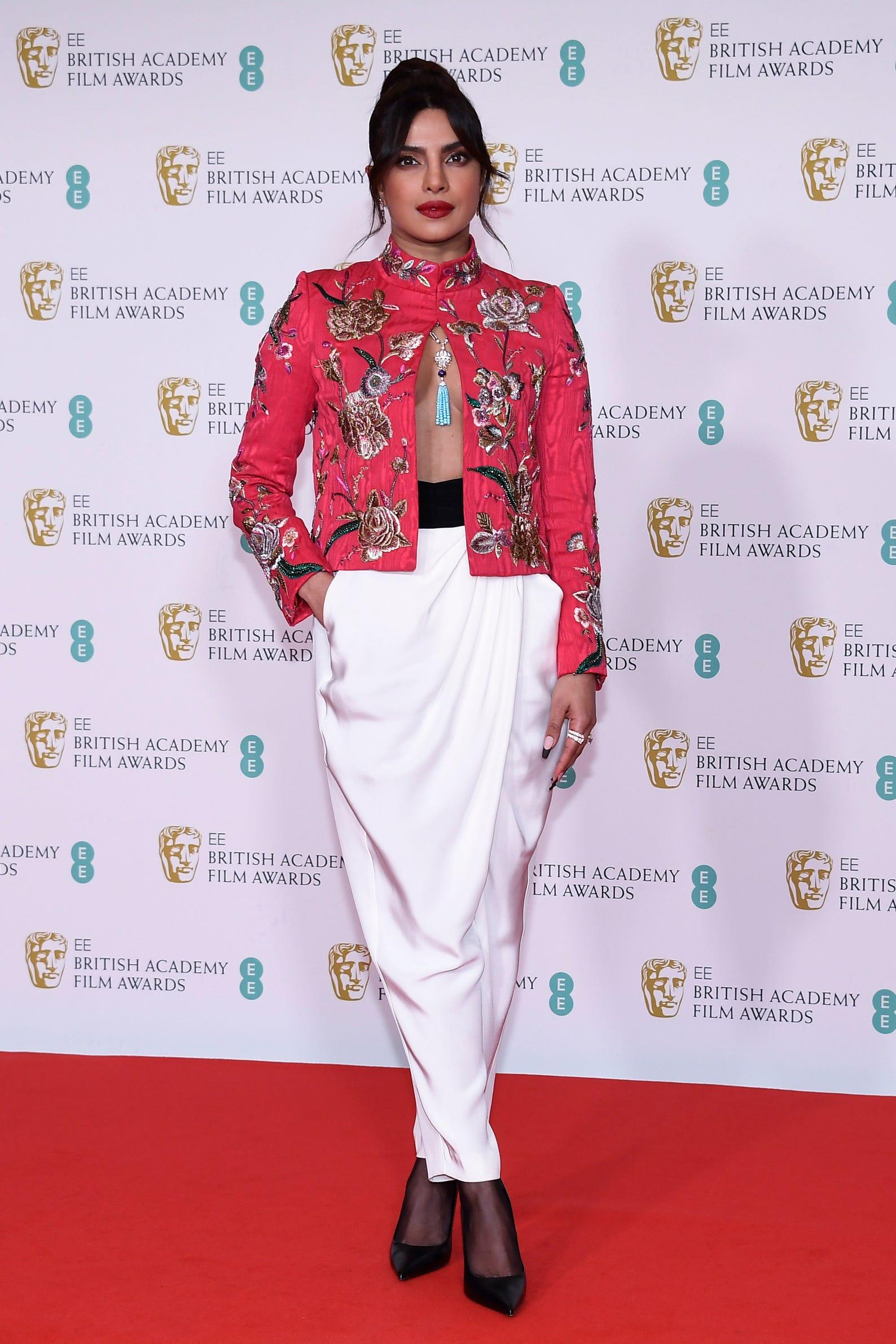 BAFTA Awards red carpet: Priyanka Chopra Jonas, Phoebe Dynevor, more