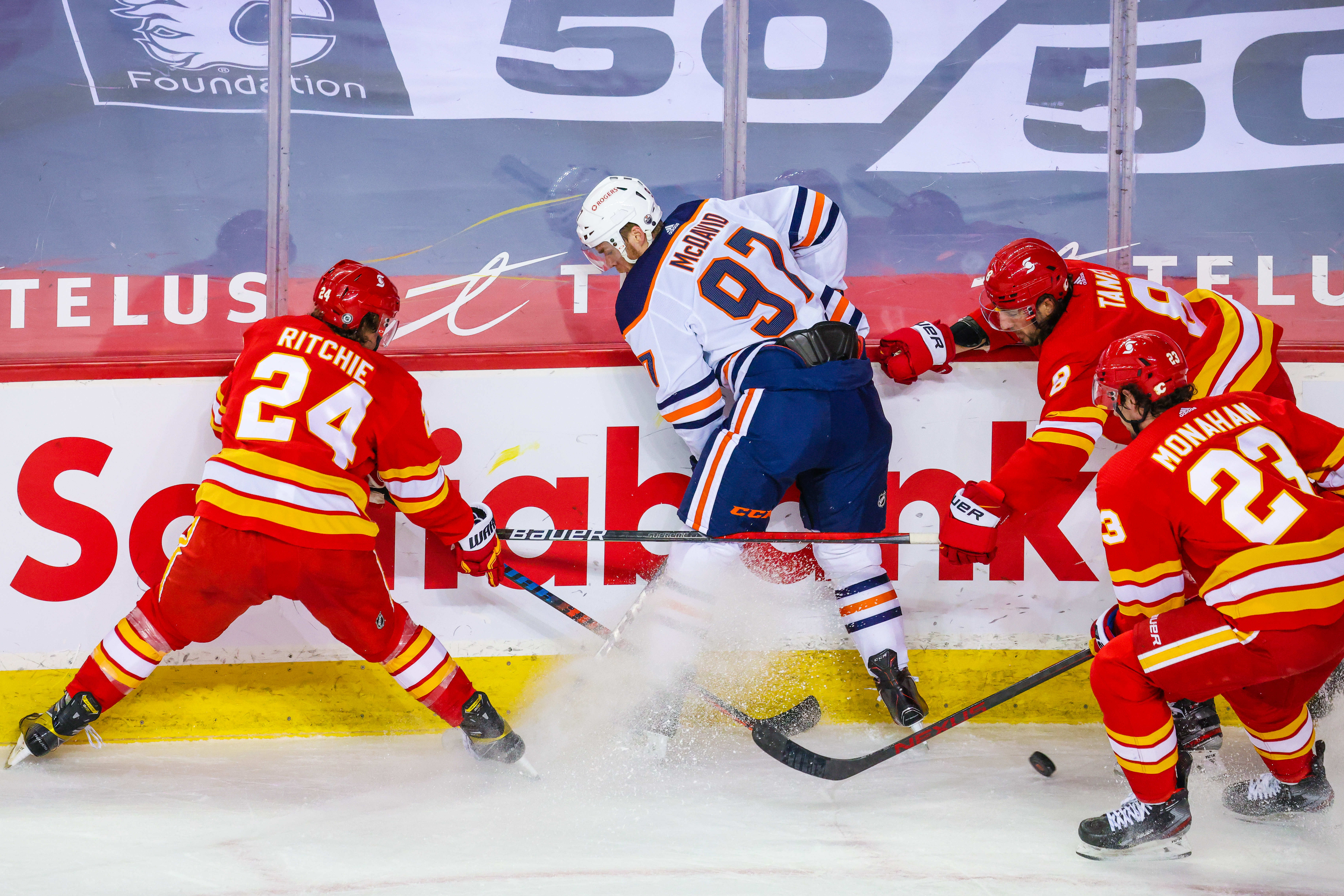 Connor McDavid questions NHL for rescheduling Oilers game after Colby Cave memorial service