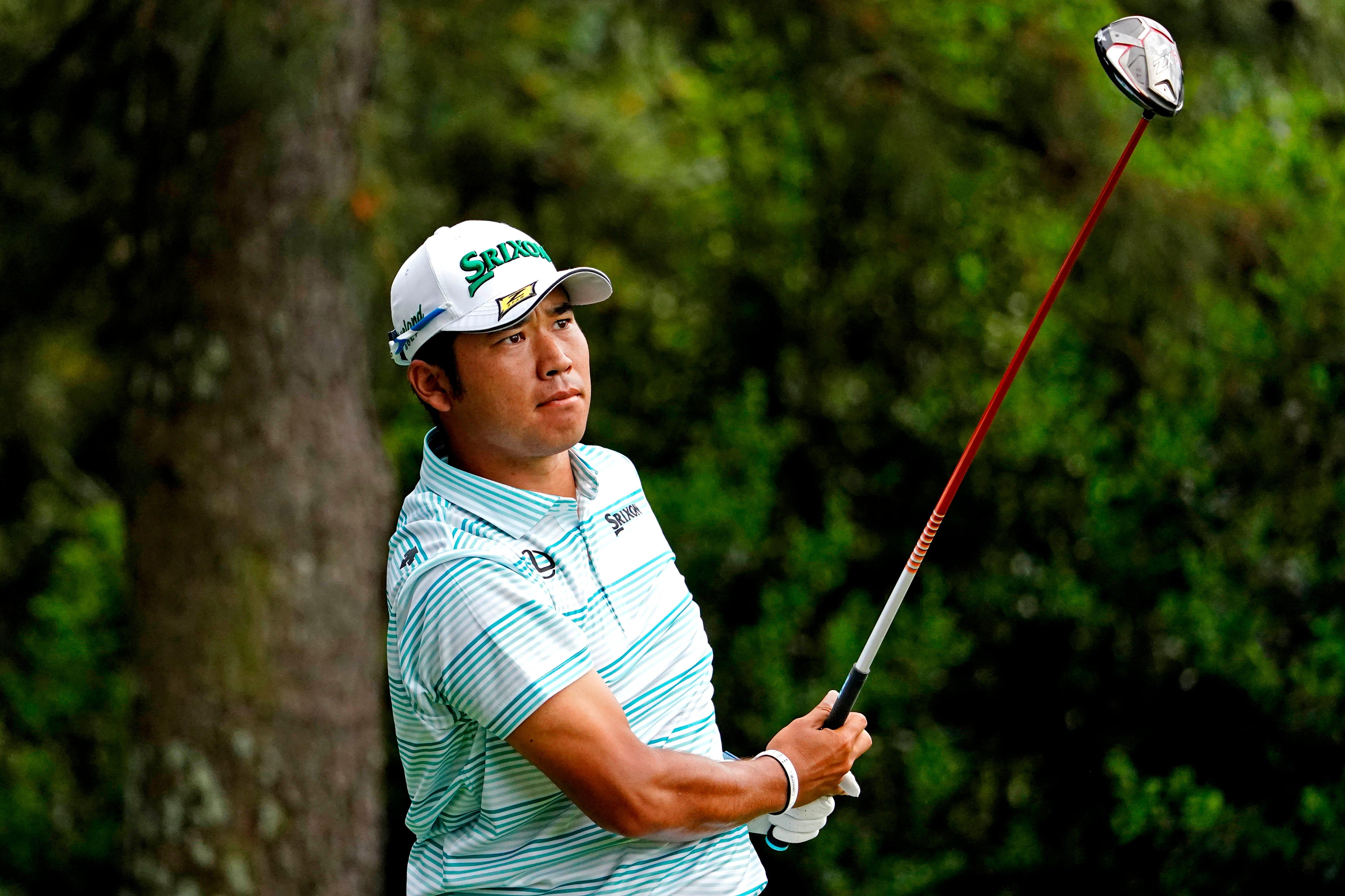 Opinion: Hideki Matsuyama plays video games during delay on way to 4-shot Masters lead