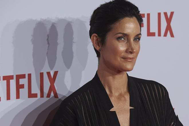 """""""Matrix"""" star Carrie-Anne Moss has some issues with Hollywood casting."""