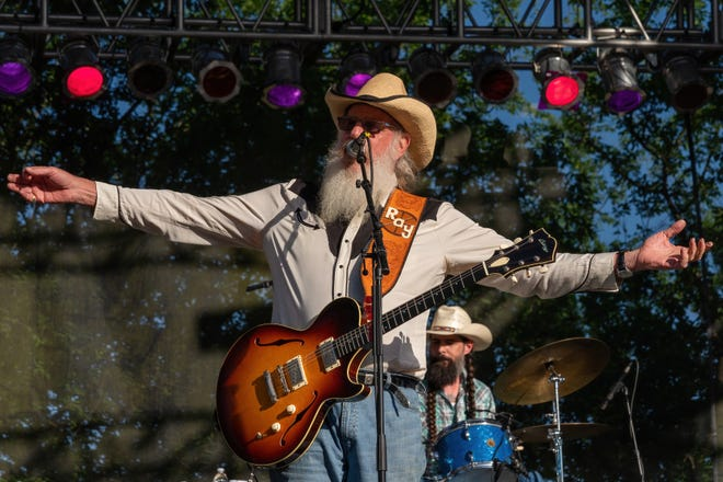 Bandleader Ray Benson and Asleep at the Wheel will celebrate their 50th anniversary at Waterloo Park on Oct. 15.