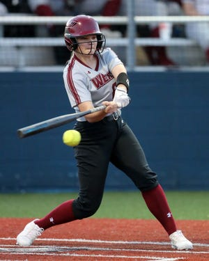 Mikenzie Miller and the Weiss softball team clinched a playoff spot in District 18-5A with a win over Connally last week.