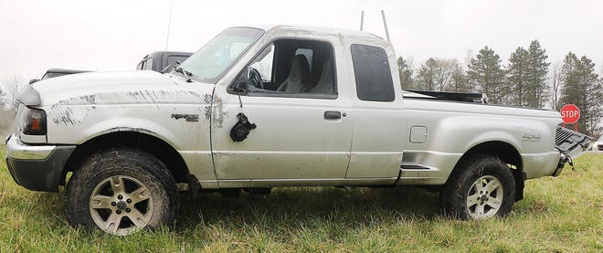 A 2019 Black BMW and a 2002 Silver Ford Ranger were involved in a crash Monday near Jeromesville.