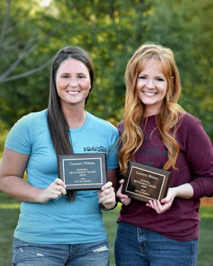 Sisters-in-lawCasady MyersandLauryn Myersrecently received the 2020 Maxwell Betterment Award for their work coordinating the Maxwell's Market in the Park, which returns for the season on May 2.