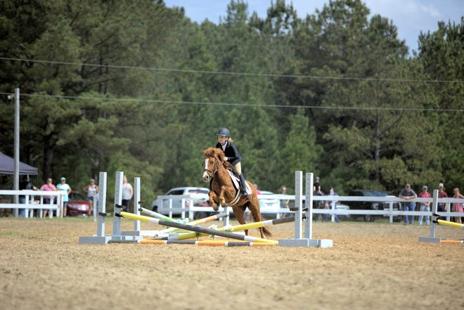 The recently reopened Woody Williams Saddle Club held its first show on March 27.