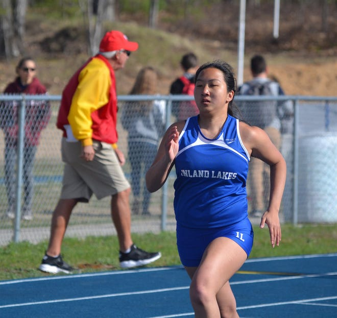 Senior Haivyn Fielder is back to lead the Inland Lakes varsity girls track and field team this spring.