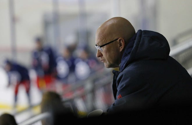 """Of the team's moves before the trade deadline, Blue Jackets general manager Jarmo Kekalainen said, """"Basically, we got all the ammunition back from when we went for it (in 2019)."""""""