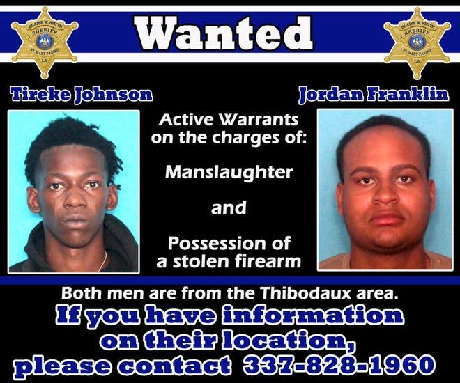 Tireke Johnson and Jordan Franklin