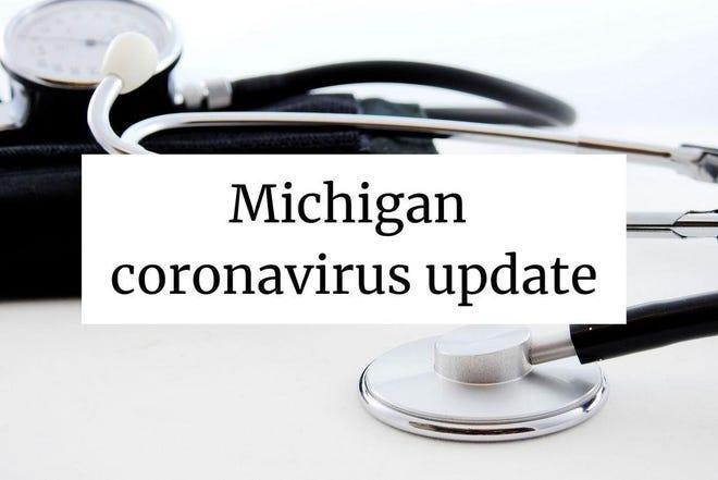 Michigan coronavirus graphic