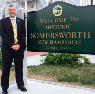 Dana Hilliard is the present Mayor of Somersworth and the first openly LGBTQ Mayor to serve in New Hampshire.