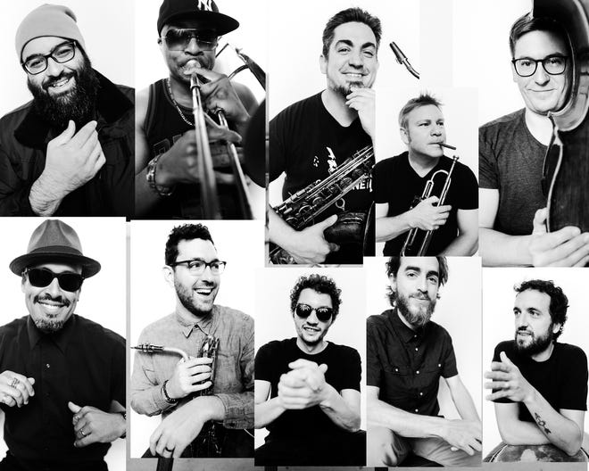 LPT, a 10-piece salsa orchestra from Jacksonville, opens for Quad City DJs at Jax River Jams next week.