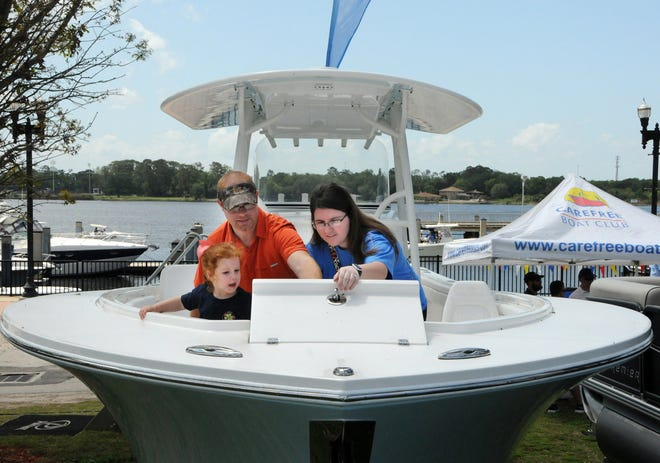 The Jacksonville Marine Association's Spring Boat Show comes to Metropolitan Park this weekend.