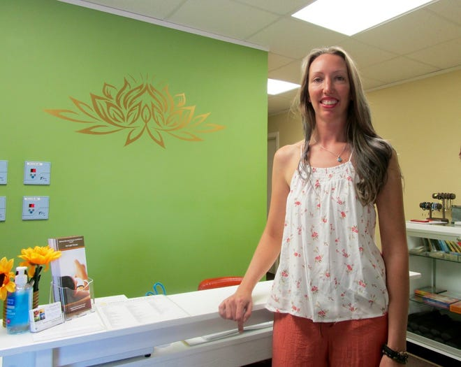 Jennifer Fecht is the owner/operator of Midwest Massage Therapy and Wellness Center, 804 South Oakwood, Suite 3, Geneseo, where a grand re-opening is planned for Saturday, April 24.