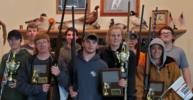 The Alex Morgan Memorial Sporting Clay's Shoot was held on Saturday April 10 with the following results:  Front row; Garrett, Kyle Lievens, Logan Tuggle, Jillian Johnson, Ella Swanson  Back row; Kyle Gurero, Andrew Burke, Michael Swanson, Landon Marshall  Not pictured; Isaac Kuster, Ethen Anthony, Josh Hock, and Drew Laxton   Jillian Johnson and Kyle Lievens were 2nd place team.  Garrett Burns was top shot overall  The event is held in memoriam to Alex and his Family and sponsored by Springfield Armory.