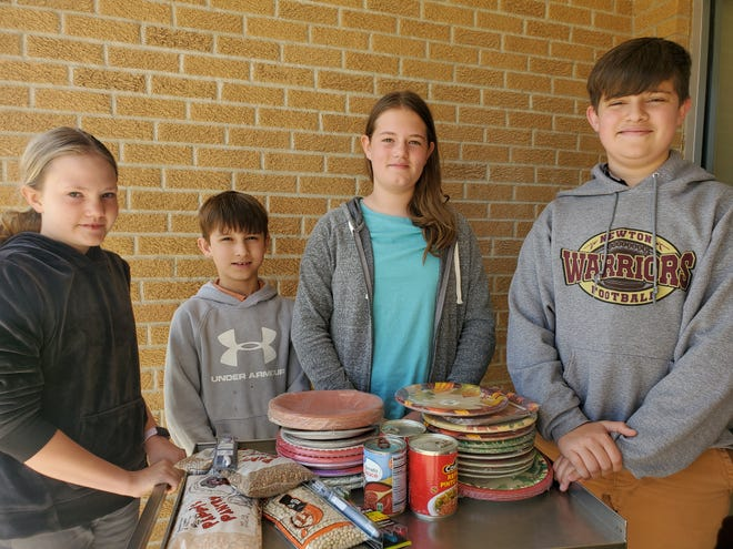 Students at Newton Bible Christian School have started collecting supplies for children stranded at the Mexico-U.S. Border. Those supplies will be delivered by local drivers who will leave later this week.