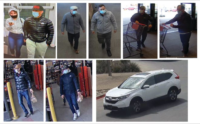 Lubbock police are warning residents about a group of distraction thieves that have been operating in West Texas from February.