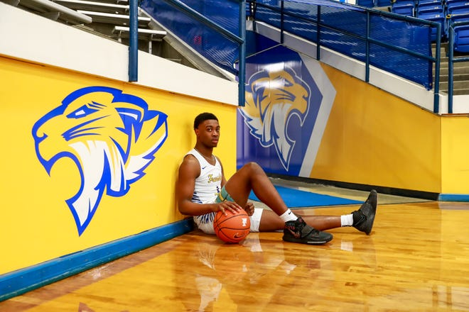 Frenship junior guard Tajavis Miller is the 2020-21 LSV Newcomer of the Year.