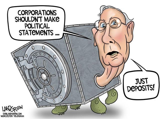 Today's editorial cartoon (April 13, 2021)