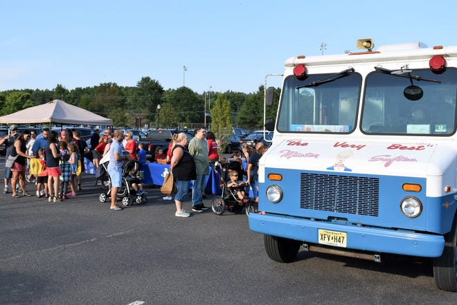 Evesham Township during National Night Out 2019.