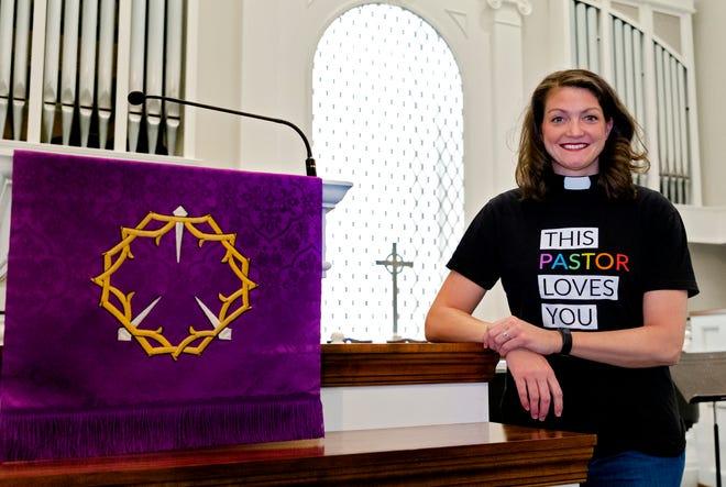 Rev. Lori Walke, senior minister at Mayflower Congregational Church UCC.