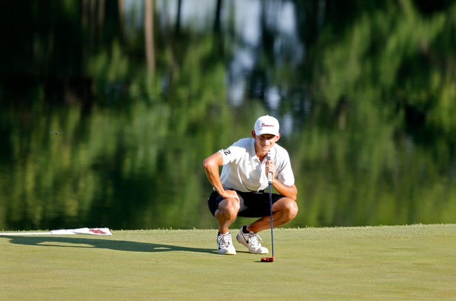 Oklahoma golfer Garett Reband helped the No. 1-ranked Sooners to a second-place finish Sunday at the Aggie Invitational in College Station, Texas. OU lost in a one-hole playoff to Texas A&M.