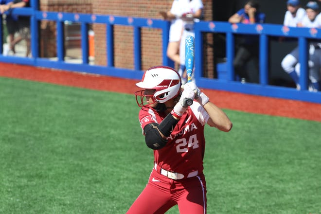 Oklahoma freshman Jayda Coleman was part of a big offensive weekend for the Sooners.