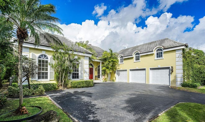 A house at 1260 N. Lake Way in Palm Beach has sold for a recorded $17.75 million after being listed at $17.98 million. The developer who bought it says he plans to replace it with a house he will develop on speculation.