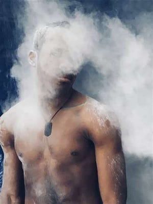 """Royal Palm Beach Community High School student Kassidy Dunn won a Silver Key at the 2021 Palm Beach and Martin Counties Regional Scholastic Art Awards for her photographic entry titled """"Powder Room."""""""