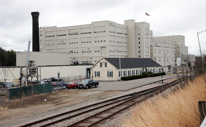 """The Aclara property in Somersworth, formerly home to General Electric, could be redeveloped with apartments and a """"California-style"""" experience-centric mall by Chinburg Properties, according to the city's economic development manager."""